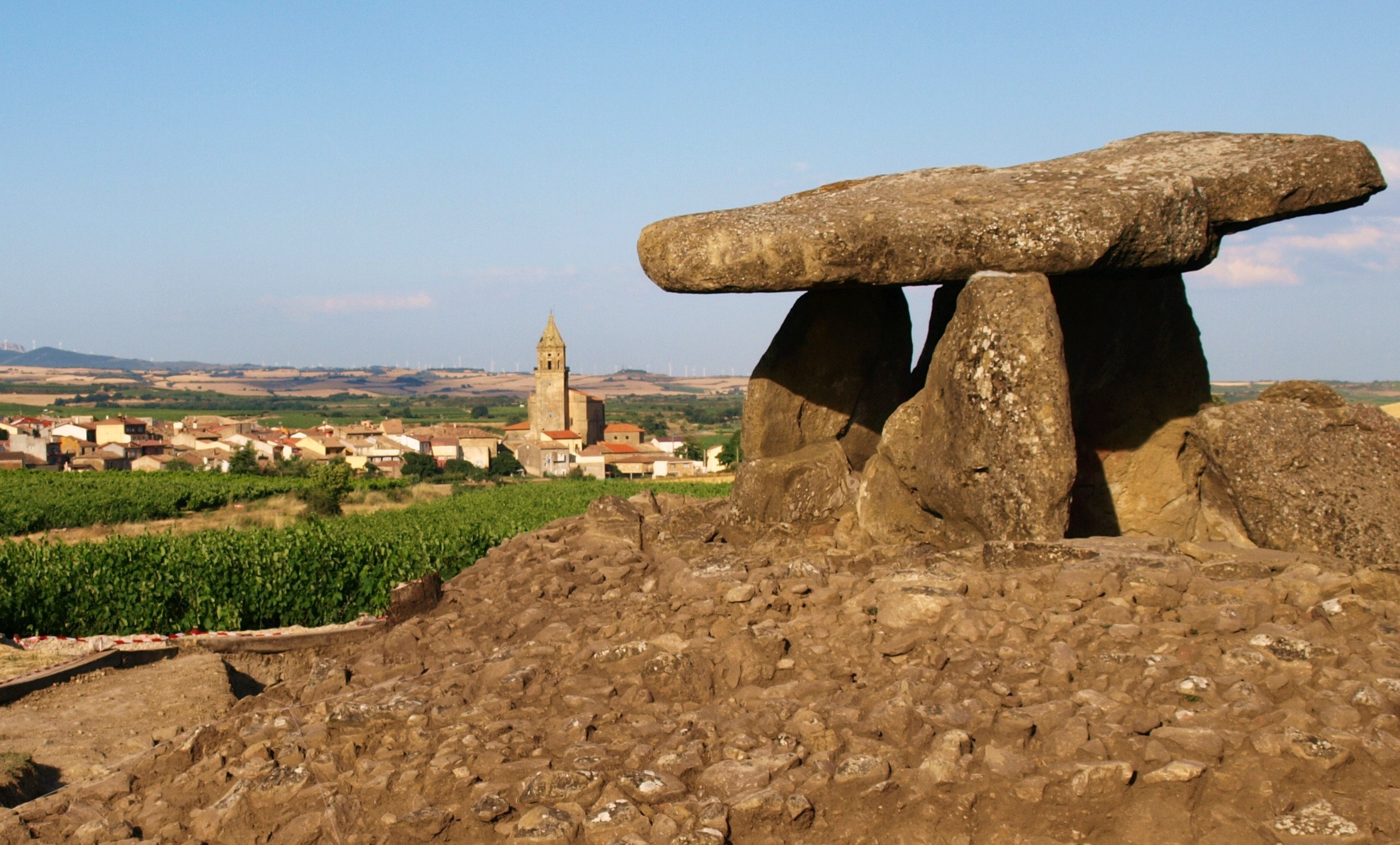 Dolmens in Rioja Alavesa