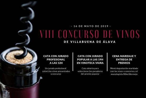 VIII Concurso de Vinos de Villabuena de Álava